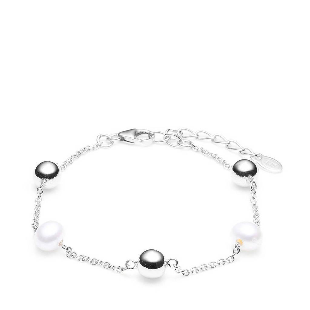 Parte di Me armband PDM1329301  zilver, Wit,Zilverkleurig
