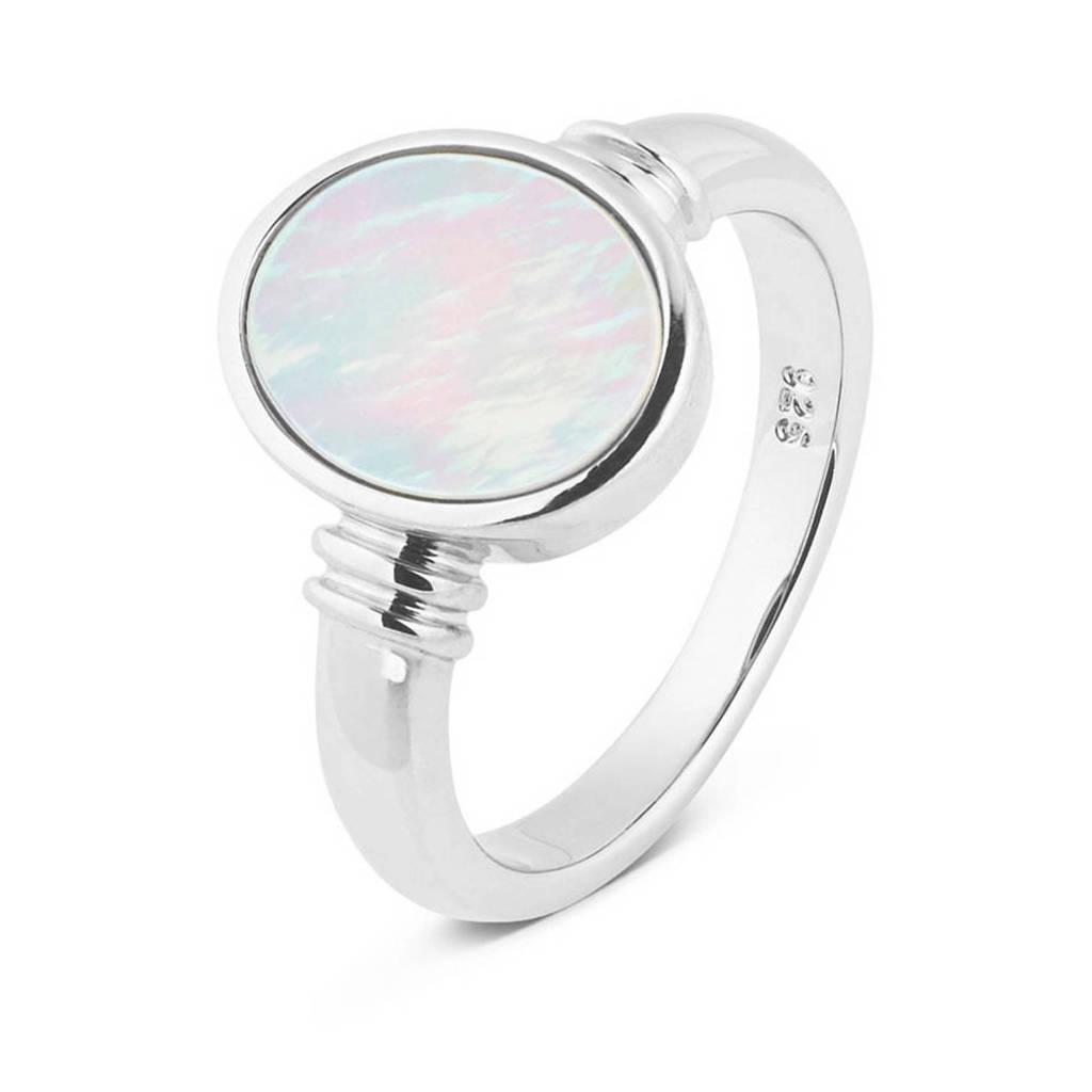 Parte di Me ring PDM1328099 zilver, Wit,Zilverkleurig