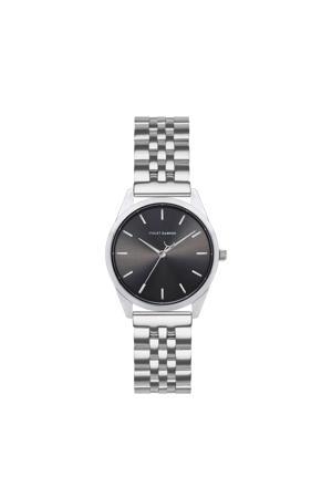 horloge Serene City VH04003 zwart/zilverkleurig