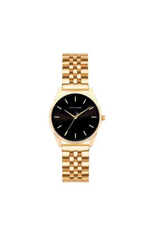 horloge Serene City VH04006 zwart/goudkleurig