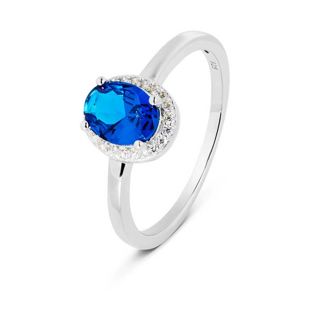 Parte di Me ring PDM1329277  zilver, Blauw,Zilverkleurig