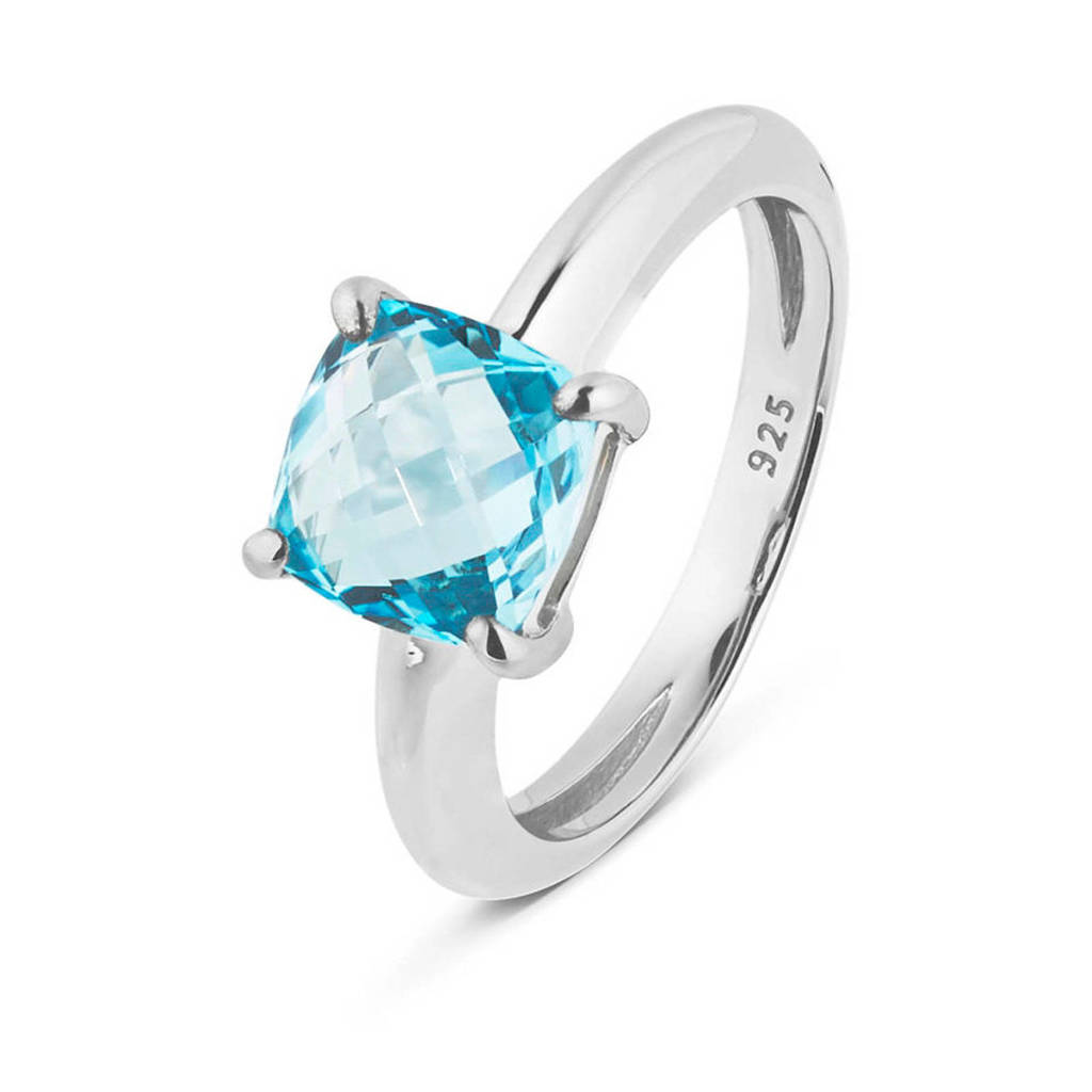 Parte di Me ring DM1320811 zilver, Blauw,Zilverkleurig
