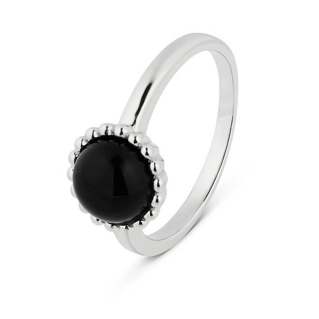 Parte di Me ring  PDM1328179  zilver, Zilverkleurig,Zwart