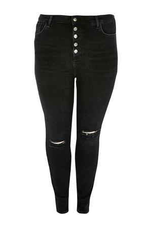 Plus skinny jeans zwart