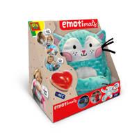 SES Emotimals - Pip interactieve knuffel, Blauw