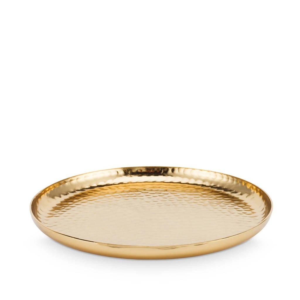 vtwonen schaal(decoratie) Metal Gold (Ø22 cm), Goud
