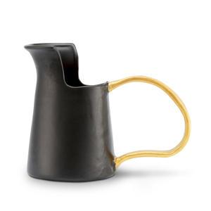 vaas Ceramic Black 25cm