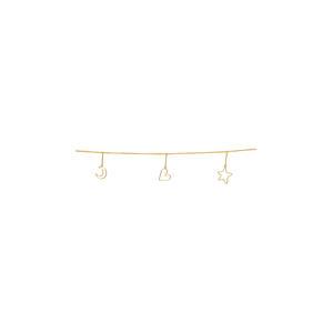 slinger Ornaments Metal Gold 250cm