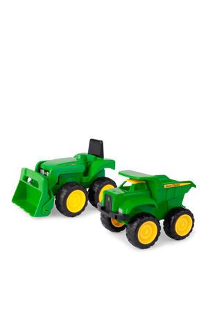 Mini Tractor met Voorlader & Kiepwagen - John Deere