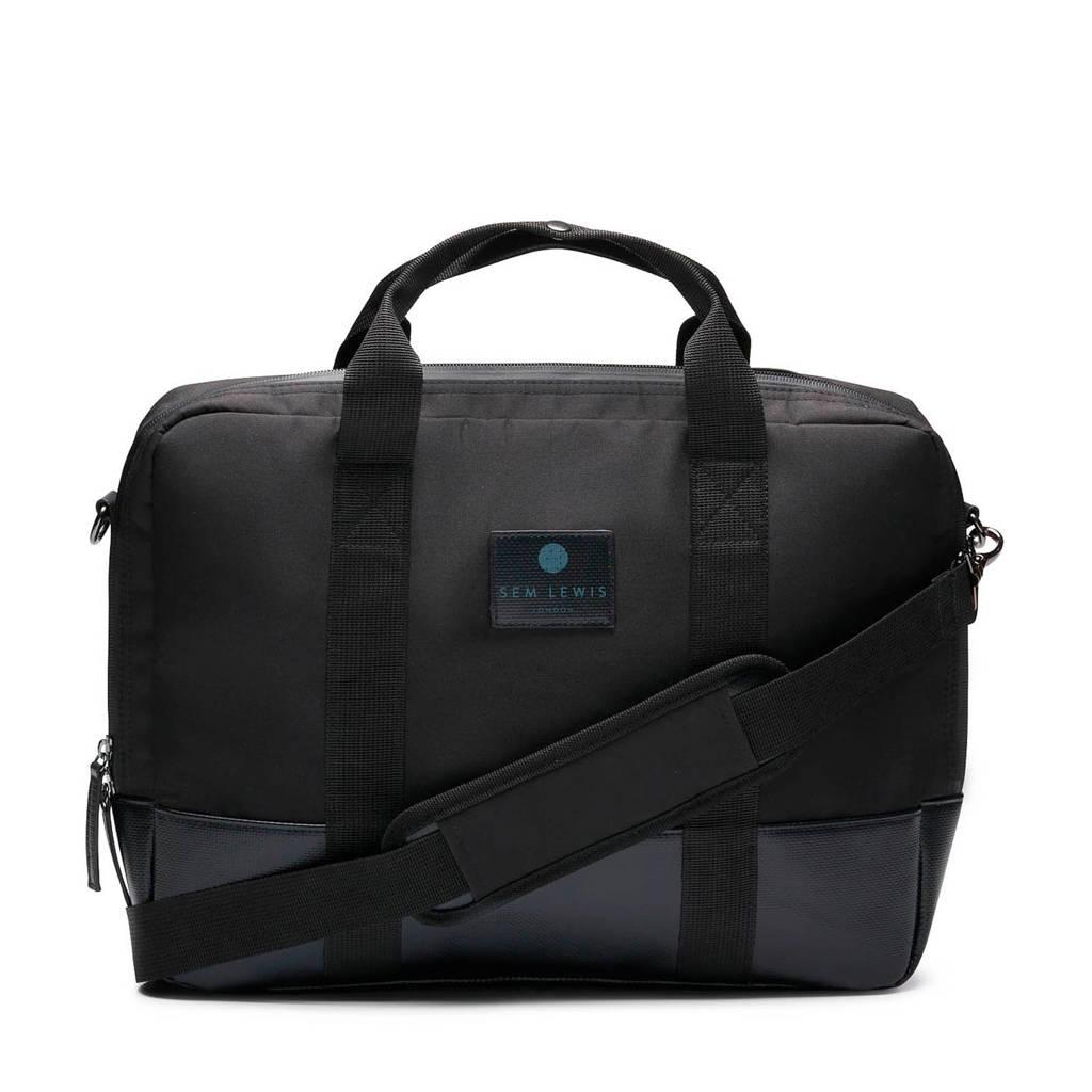 Sem Lewis  15 15 inch laptoptas SL4300001 zwart, Zwart