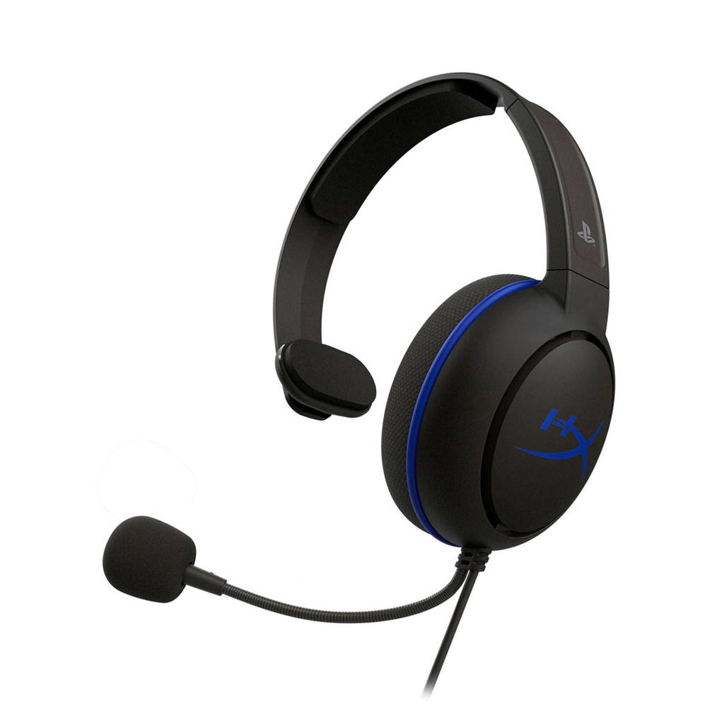 HyperX Cloud Chat PS4 gaming headset, Zwart