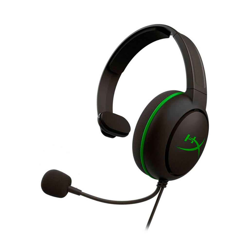 HyperX  CloudX Chat Xbox One gaming headset, Black,Green