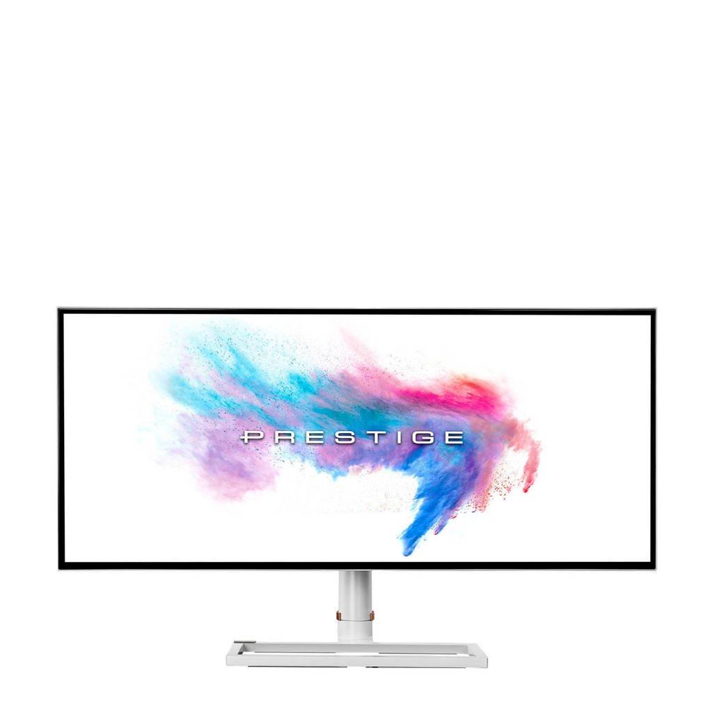 MSI PRESTIGE PS341WU monitor, Wit