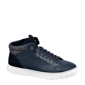 halfhoge sneakers blauw