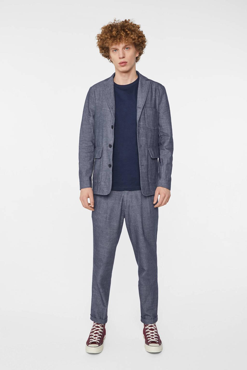 WE Fashion Blue Ridge loose fit pantalon royal navy, Royal Navy