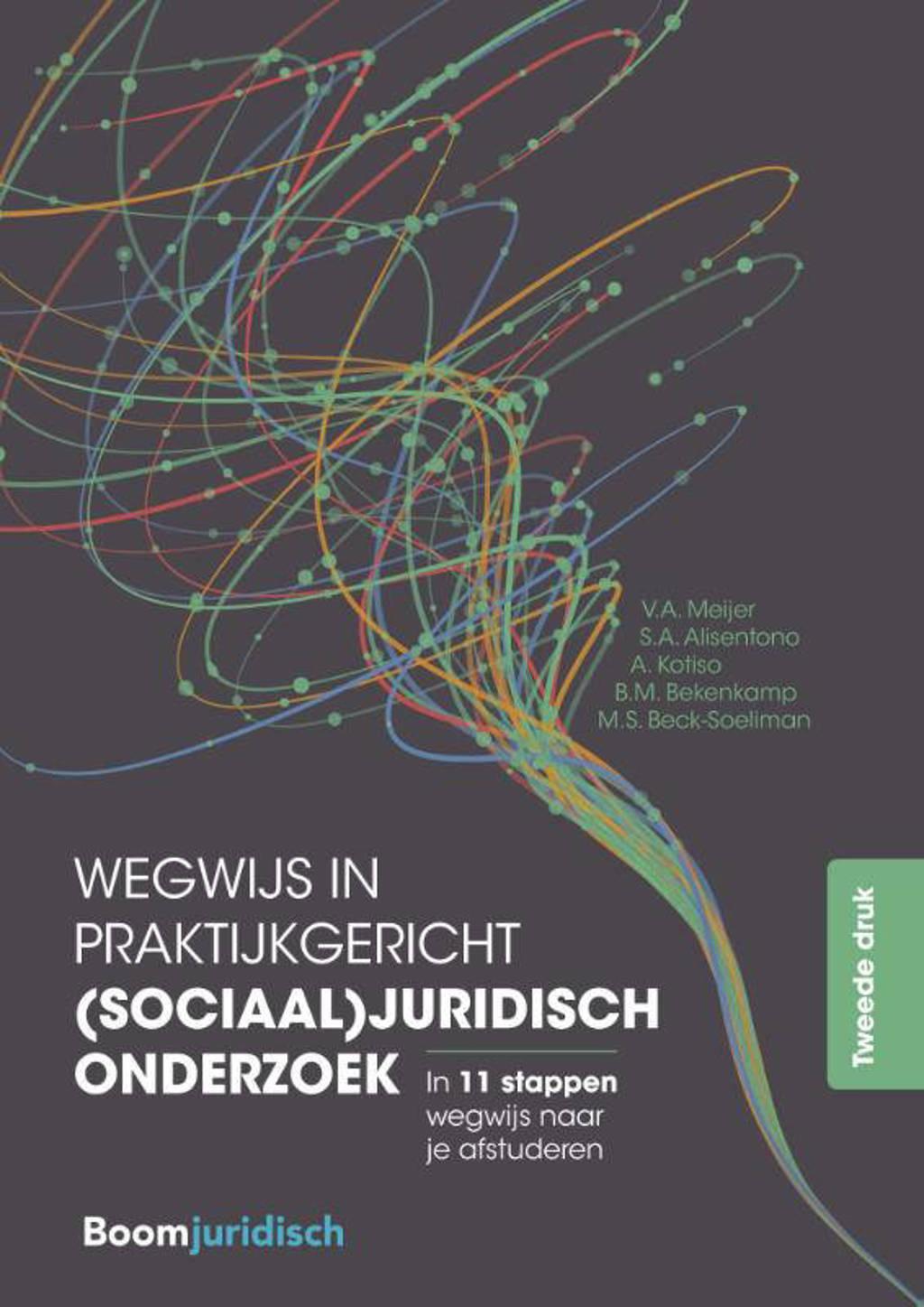 Wegwijs in praktijkgericht (sociaal)juridisch onderzoek - V.A. Meijer Meijer, S.A. Alisentono, A. Kotiso, e.a.