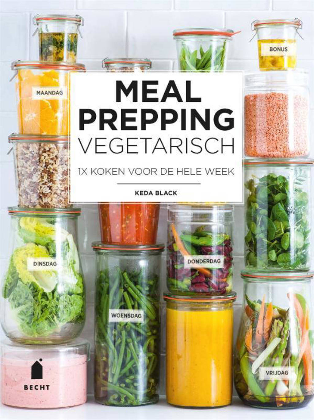 Meal prepping vegetarisch - Keda Black