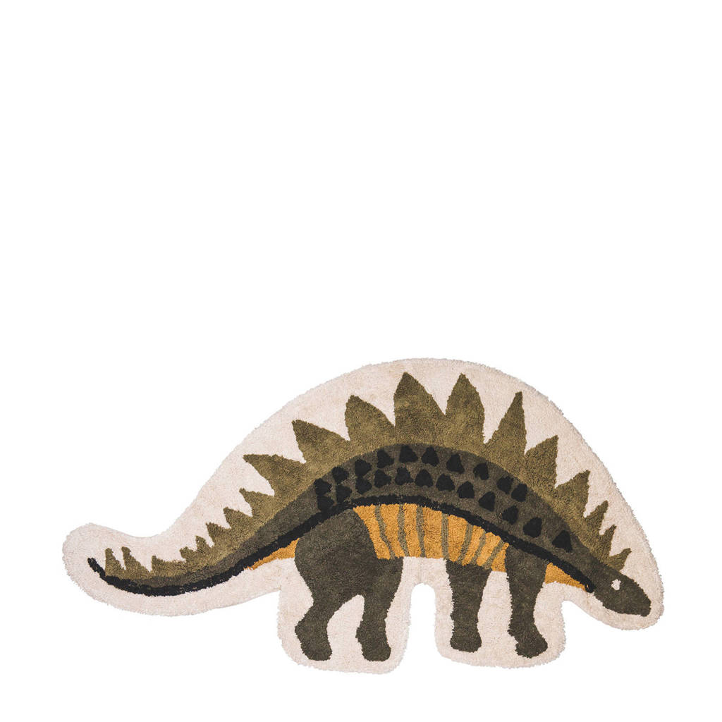 Tapis Petit kindervloerkleed Dino  (150x80 cm), Groen