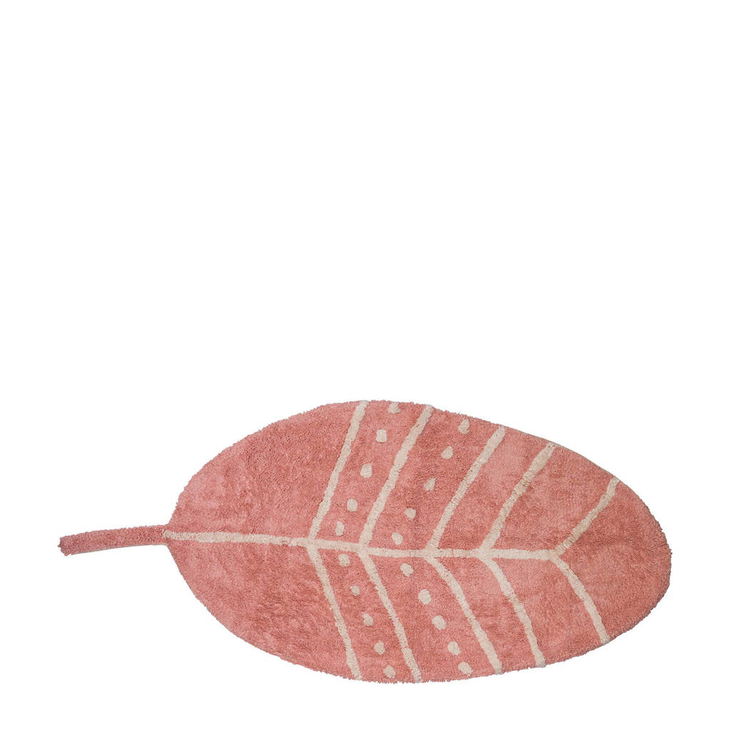 Tapis Petit kindervloerkleed Feather  (140x70 cm), Oudroze