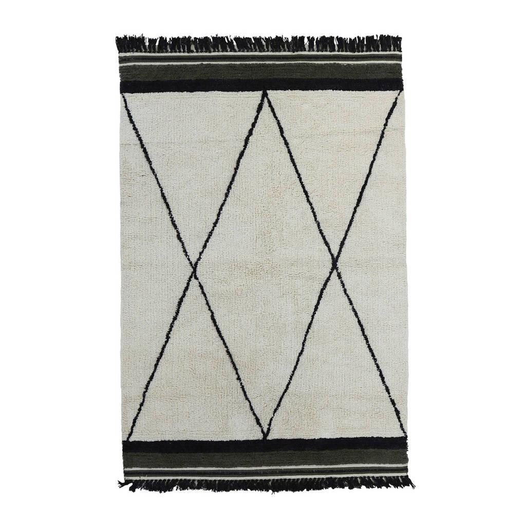 Tapis Petit vloerkleed Rug Etnic   (120x170 cm), Donkergroen