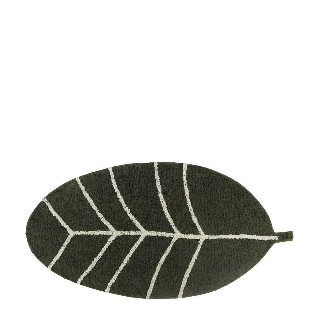 Tapis Petit vloerkleed Leave  (140x70 cm), Groen