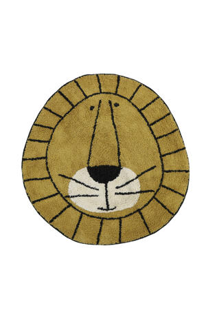 vloerkleed Rug Lion  (Ø100 cm)
