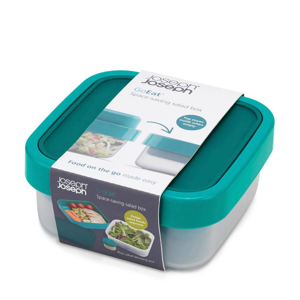 Joseph Joseph  Go Eat Compact Saladebox 3 in 1, Groen