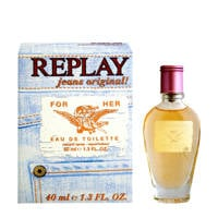 REPLAY Jeans Original For Her eau de toilette - 40 ml