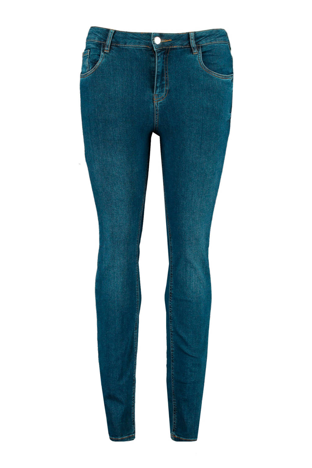 MS Mode high waist skinny jeans stonewash denim, Stonewash Denim