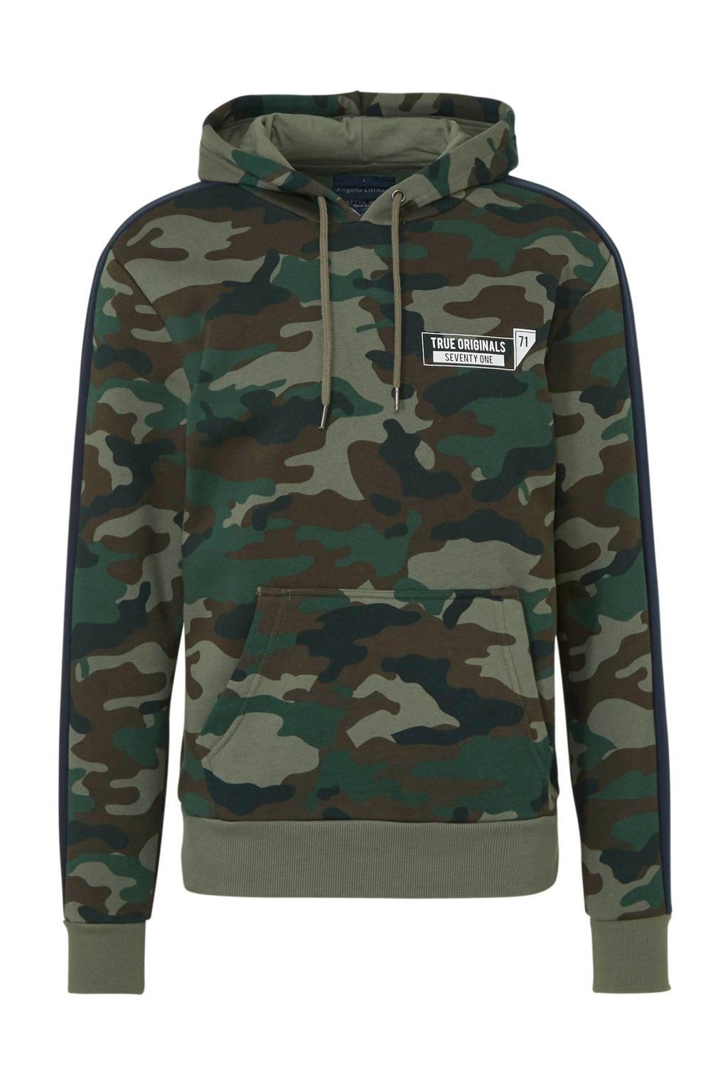 C&A Angelo Litrico hoodie met biologisch katoen groen, Groen