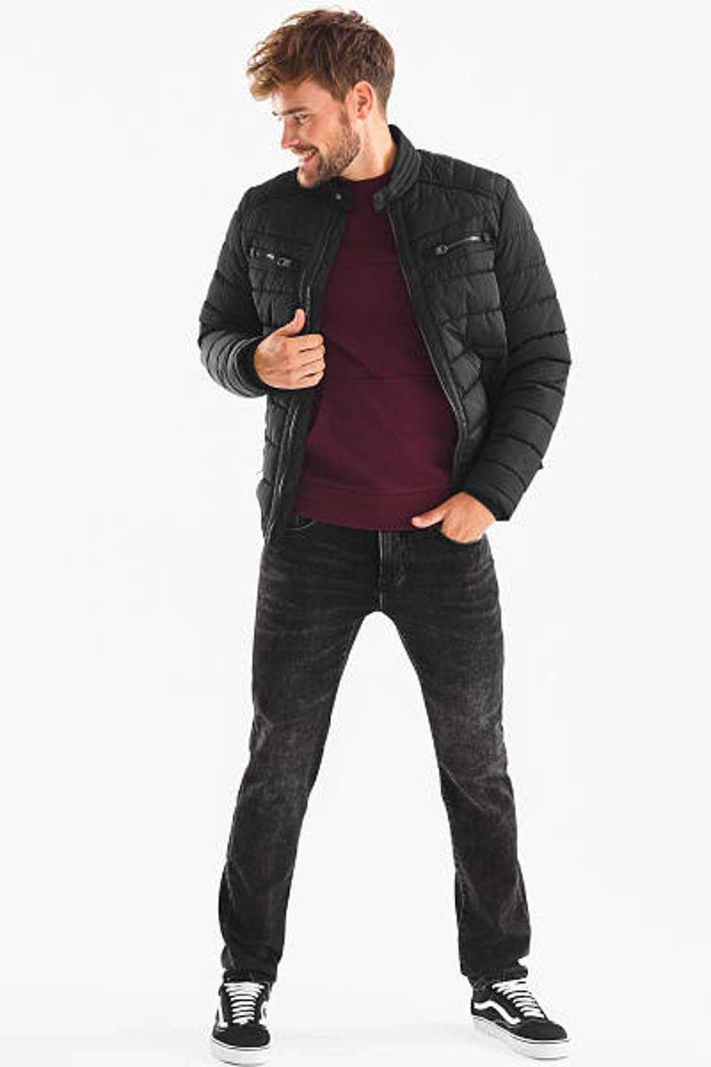 C&A The Denim slim fit jeans zwart, Zwart