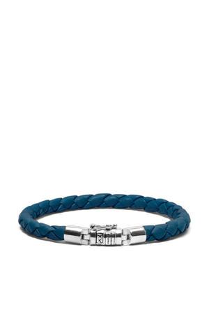 leren armband BTBJ545RE blauw