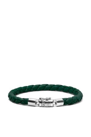 leren armband BTBJ545SP groen
