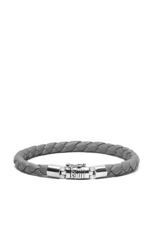leren armband BTBJ545GA grijs