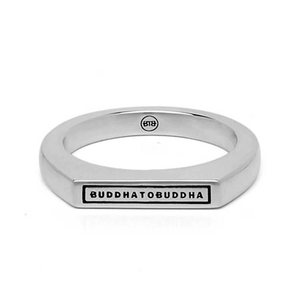 Buddha To Buddha ring BTB055 zilver, Zilverkleurig