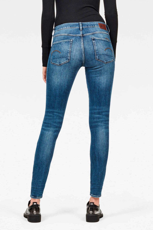 G-Star RAW skinny jeans blauw, Blauw