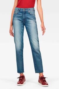 G-Star RAW 3301 cropped high waist straight fit jeans Antic indigo
