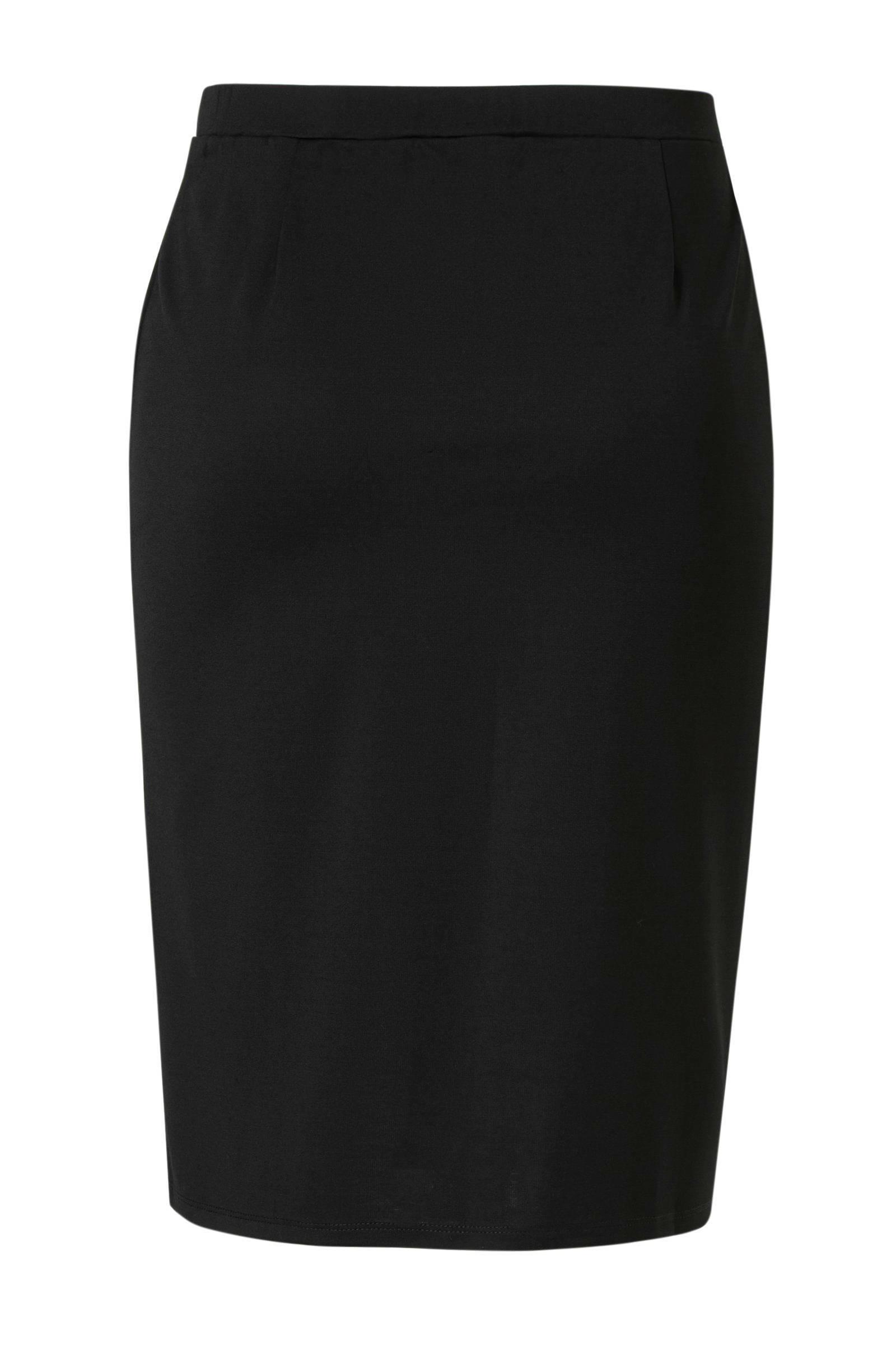 IVY BELLA rok met contrastbies zwart
