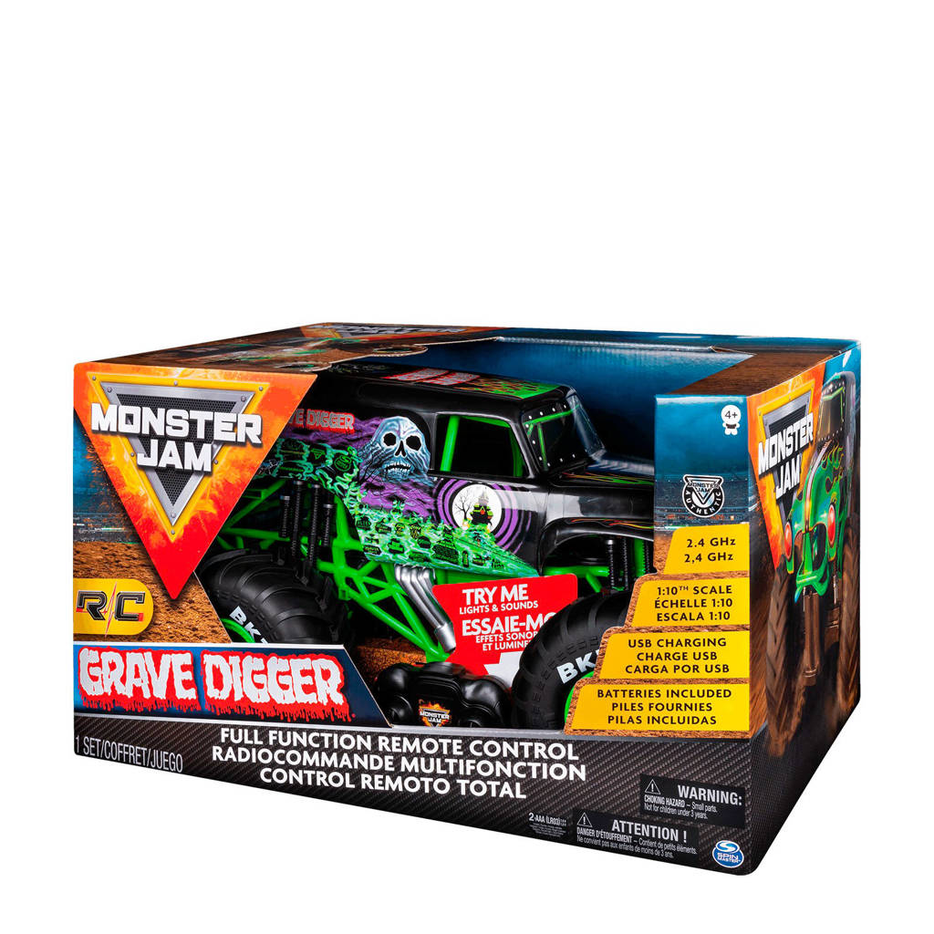 Monster Jam Grave Digger RC 1:10