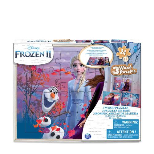Disney Frozen 2 houten legpuzzel 24 stukjes