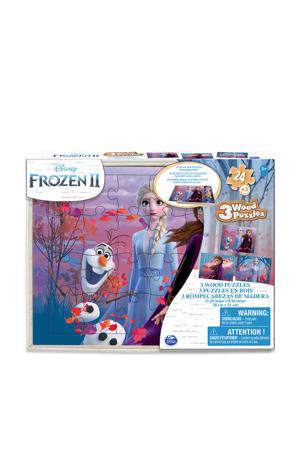 Frozen 2 houten puzzels houten vormenpuzzel 72 stukjes