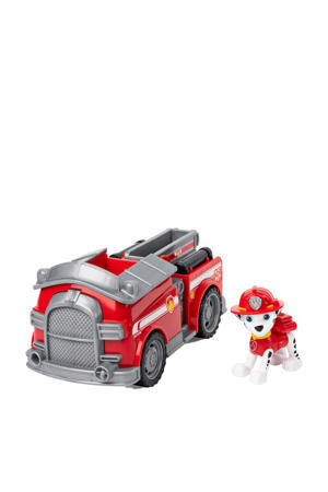 voertuig met pup Marshall