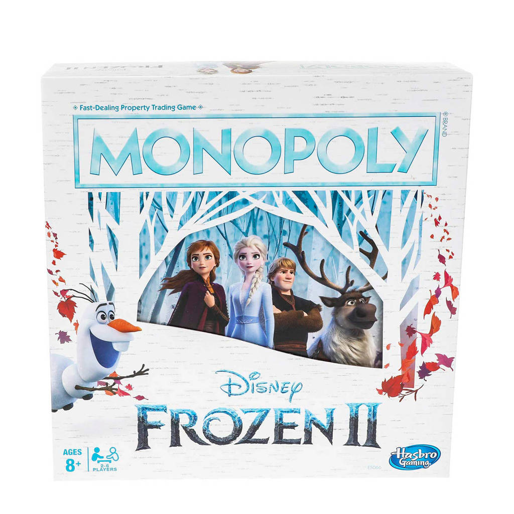 Disney Frozen 2 Monopoly bordspel