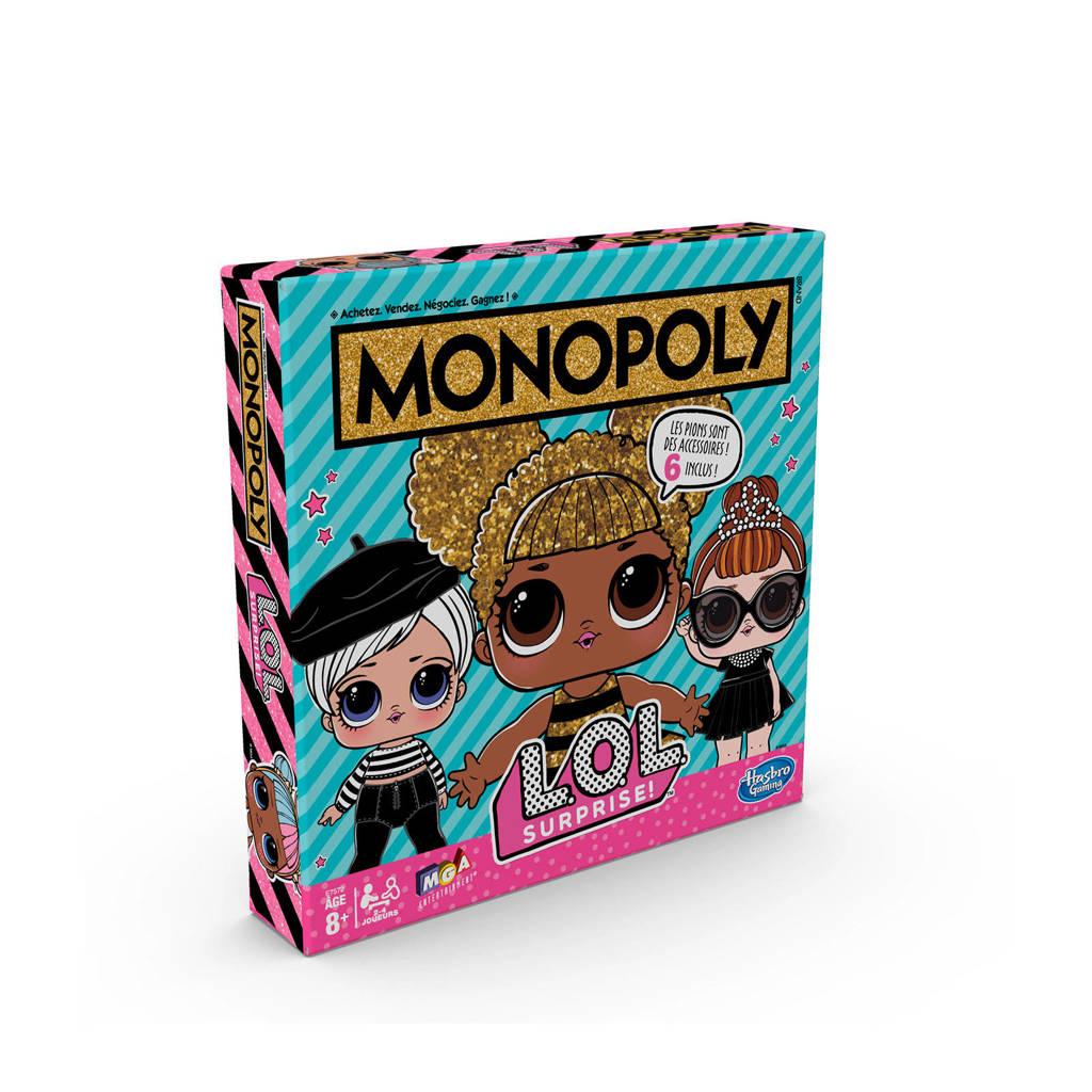 Hasbro Gaming LOL Surprise Monopoly bordspel