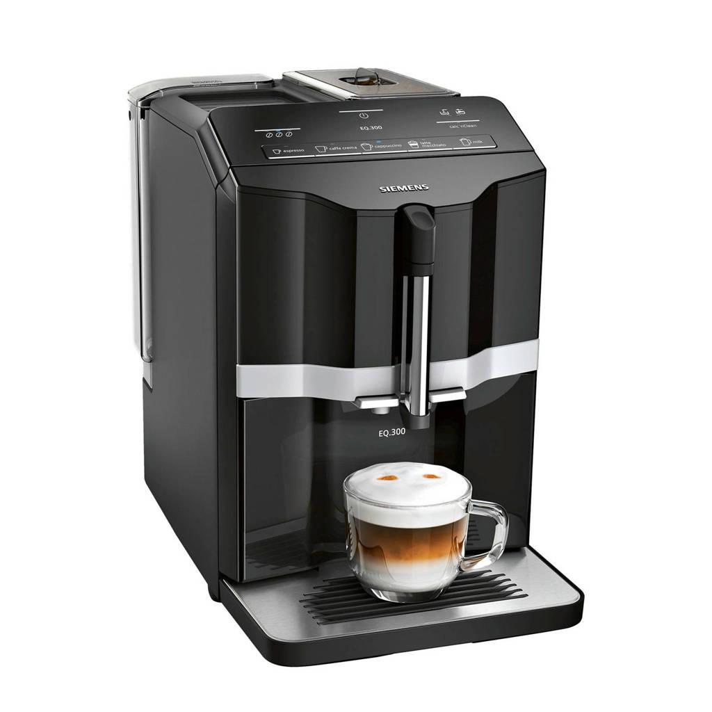 Siemens TI351209RW koffiemachine, Zwart