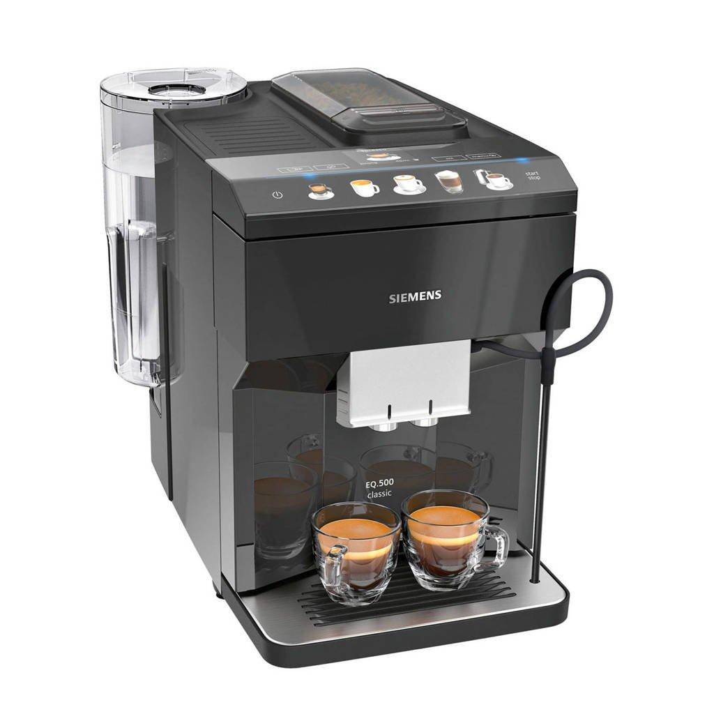 Siemens TP503R09 koffiemachine, Zwart