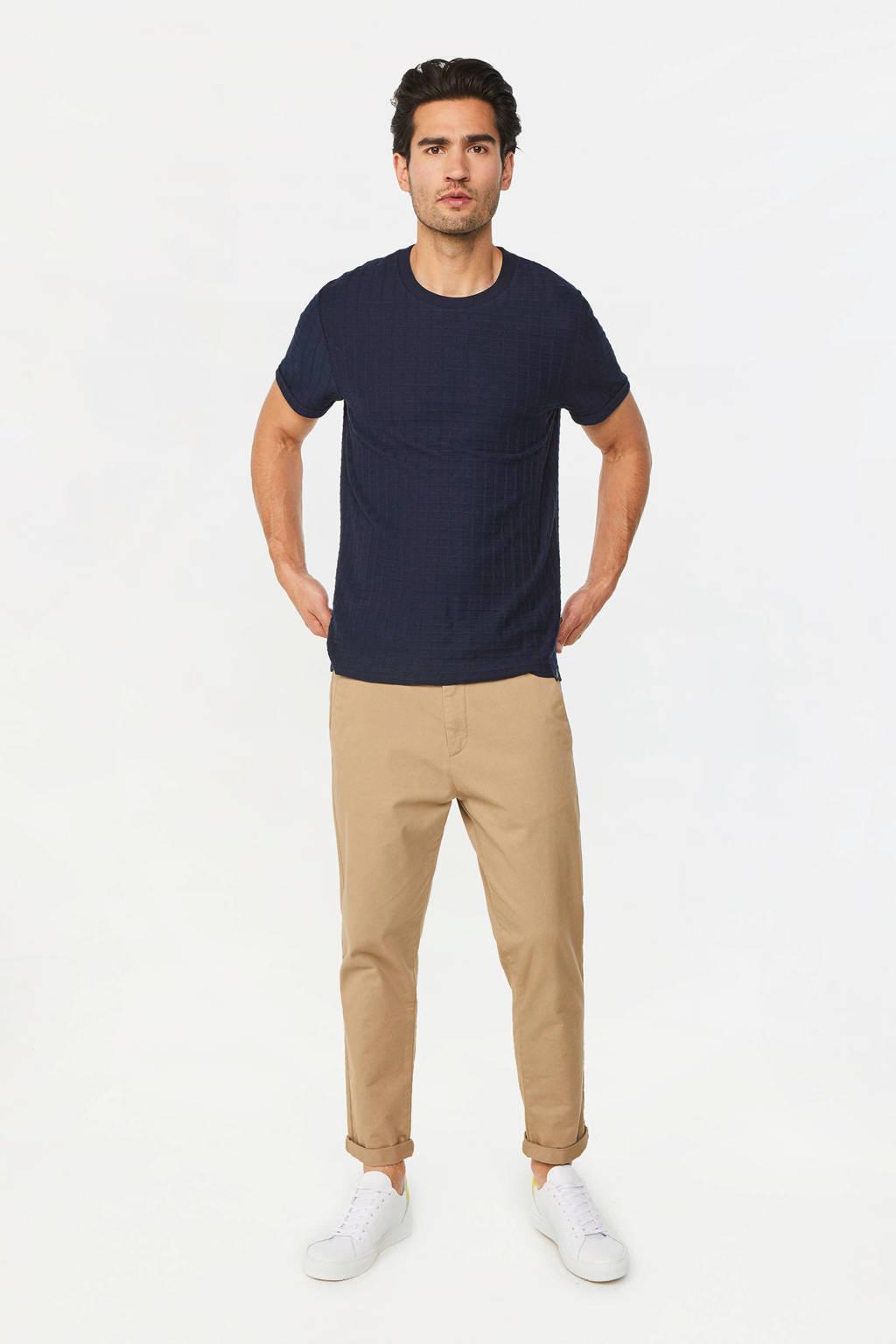 WE Fashion T-shirt donkerblauw, Donkerblauw