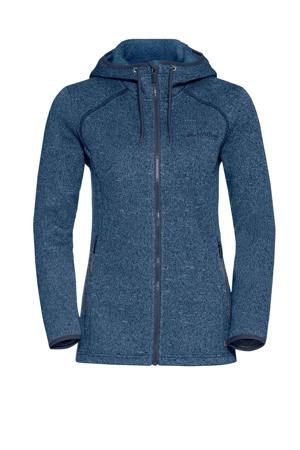 fleece vest Sentino blauw