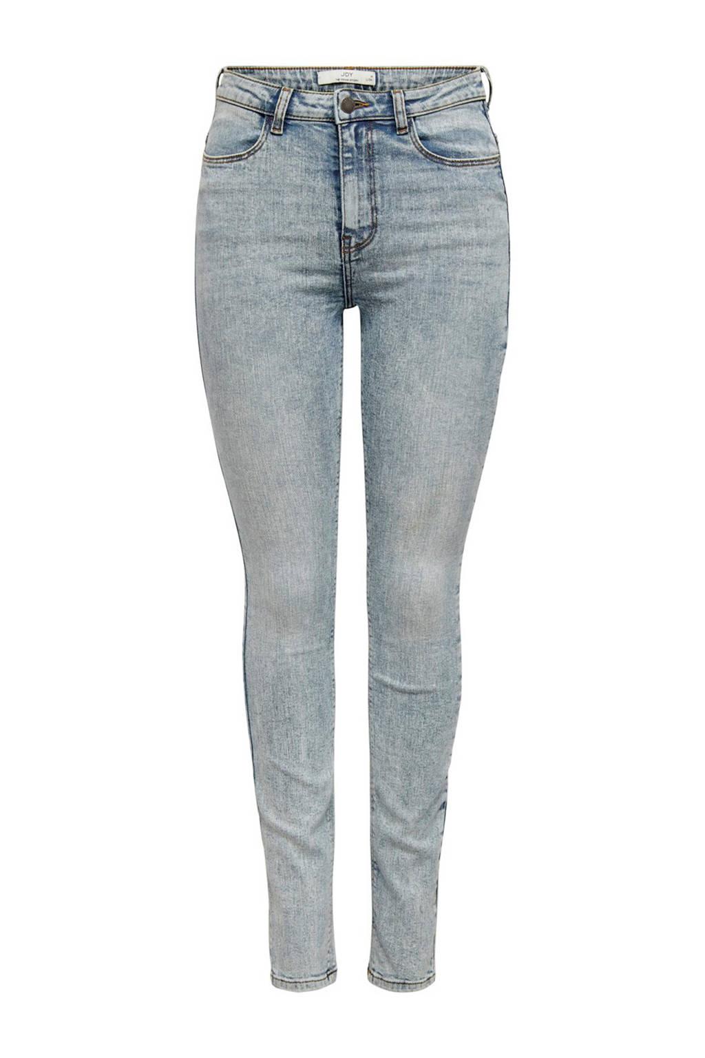 JACQUELINE DE YONG high waist skinny jeans lichtblauw, Lichtblauw