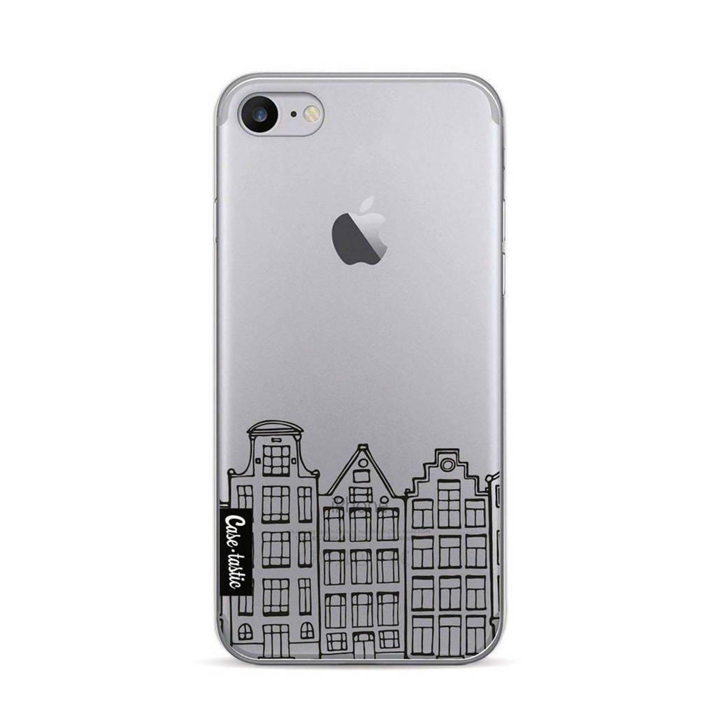 Casetastic backcover Amsterdam iPhone 7/8, Transparant